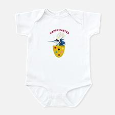 Easter Baby Fish Infant Bodysuit