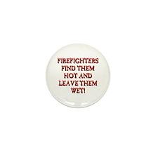 Cute Firefighter Mini Button (10 pack)