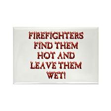 Cute Fireman Rectangle Magnet
