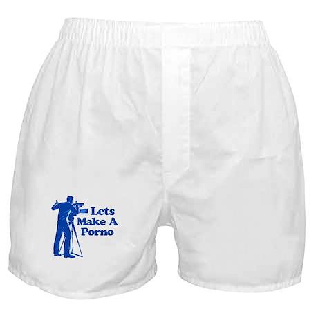 Lets Make A Porno Boxer Shorts
