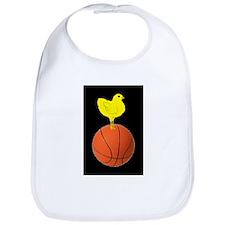 Basketball Chick Bib