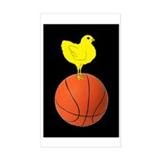 Basketball Chick Decal