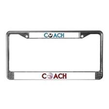 GOOD COACHES WIN GAMES License Plate Frame