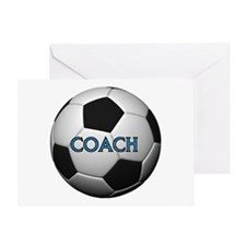 GOOD COACHES WIN GAMES Greeting Card