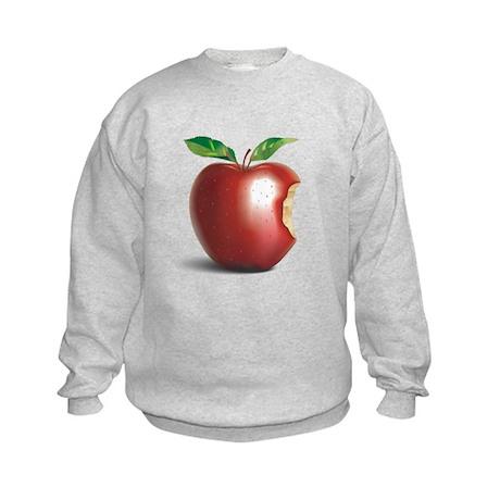 NY New York Apple Kids Sweatshirt