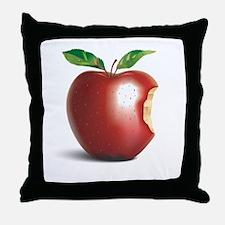 NY New York Apple Throw Pillow