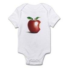 NY New York Apple Infant Bodysuit