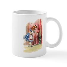 Alice FInds a Door Mug