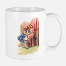 Alice FInds a Door Small Mugs