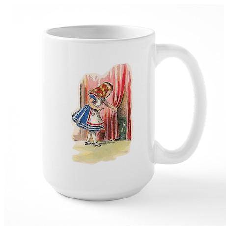 Alice FInds a Door Large Mug