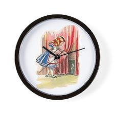 Alice FInds a Door Wall Clock