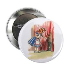 "Alice FInds a Door 2.25"" Button"