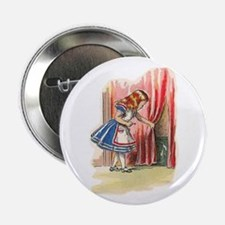 """Alice FInds a Door 2.25"""" Button"""