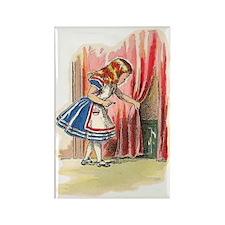 Alice FInds a Door Rectangle Magnet