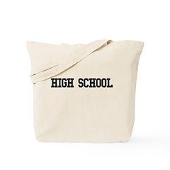 High School College Tote Bag