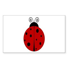 Ladybug - Personalized with Decal