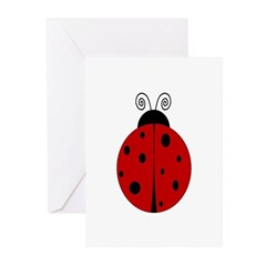 Ladybug - Personalized with Greeting Cards (Pk of