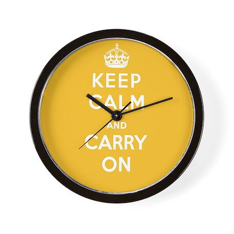 Lemon Square Yellow Wall Clock