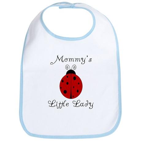 Mommy's Little Lady - Ladybug Bib