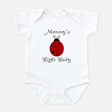 Mommy's Little Lady - Ladybug Infant Bodysuit