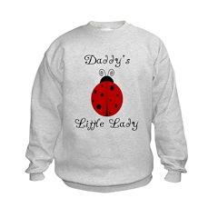 Daddy's Little Lady! Ladybug Sweatshirt