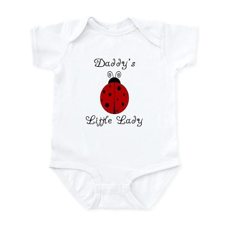 Daddy's Little Lady! Ladybug Infant Bodysuit