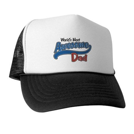 Most Awesome Dad Trucker Hat