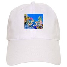 Tropical Paradise Art Baseball Cap