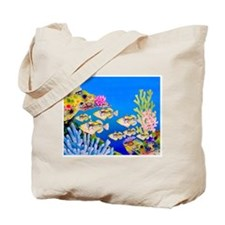 Tropical Paradise Art Tote Bag
