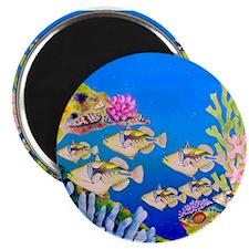 "Tropical Paradise Art 2.25"" Magnet (10 pack)"