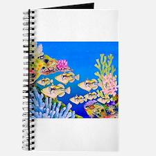 Tropical Paradise Art Journal