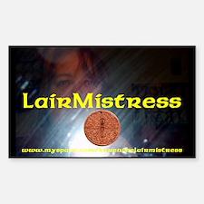 LairMistress 2008 Sticker (Rectangle)