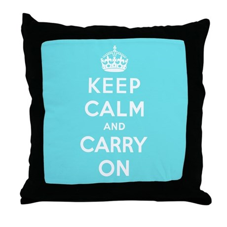 Tiffany Blue Throw Pillow