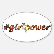 #GirlPower Decal