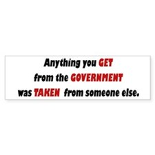 Conservative Bumper Sticker - A