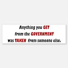 Conservative Bumper Sticker - A