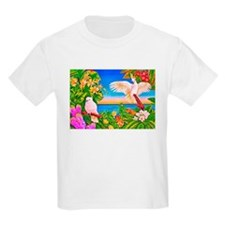 Tropical Paradise Art T-Shirt