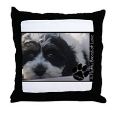 Cute Cockapoo Throw Pillow