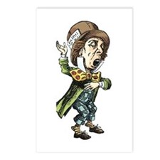 The Mad Hatter Postcards (Package of 8)
