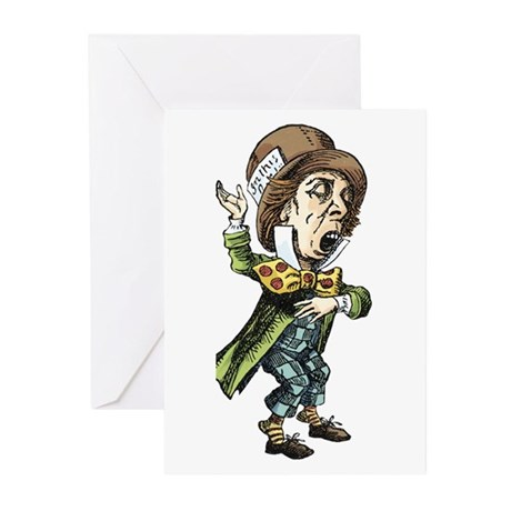 The Mad Hatter Greeting Cards (Pk of 10)