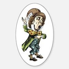 The Mad Hatter Sticker (Oval)