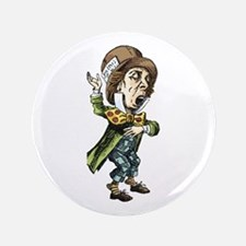 "The Mad Hatter 3.5"" Button"