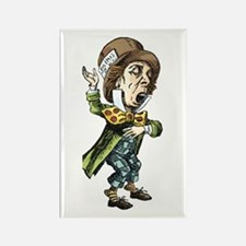The Mad Hatter Rectangle Magnet