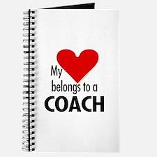 Heart belongs, coach Journal