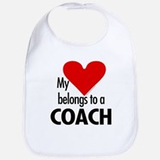 Heart belongs, coach Bib