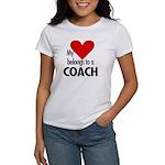 Heart belongs, coach Women's T-Shirt
