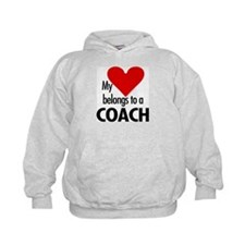 Heart belongs, coach Hoodie