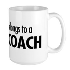 Heart belongs, coach Mug