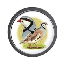Partridge Chukar Wall Clock