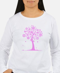 Winter Snowflake Tree T-Shirt